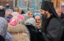 Архієпископ Варсонофій звершив Божественну Літургію в соборі Різдва Богородиці.