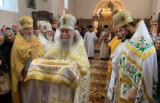 Архієпископ Варсонофій звершив Божественну Літургію в Іоанно-Богословському храмі м. Вінниці.