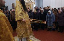 Архієрейська Божественна Літургія в Браїлівському монастирі.