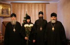 Три архієреї привітали настоятельку Браїлівського монастиря з днем народження.