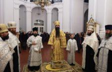 Архієпископ Варсонофій звершив всенічне бдіння в Браїлівському монастирі.