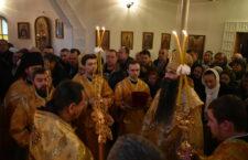 Архієпископ Варсонофій звершив Божественну Літургію в храмі святого великомученика Пантелеімона.