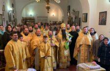 Архієпископ Варсонофій звершив Божественну Літургію в храмі Різдва Пресвятої Богородиці селища Вороновиця.