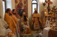 Архієпископ Варсонофій звершив Божественну Літургію в храмі священномученика Макарія.