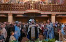 Всенічне бдіння у Хресто-Воздвиженському храмі.