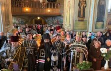 Літургія Передосвячених Дарів у Хмільнику.