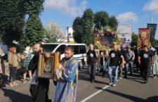 Хресна хода та Літургія в Калинівці.