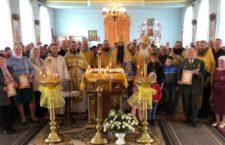 Митрополит Варсонофій звершив Літургію в Калинівському районі.