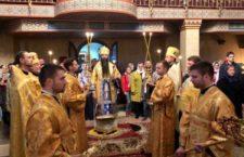 Всенічне бдіння в Хресто-Воздвиженському храмі.