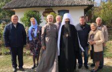 Митрополит Варсонофій відвідав музей «Родинна оселя» в с. Павлівка.