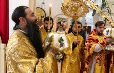 Митрополит Варсонофій звершив Літургію в Андріє-Володимирському храмі.