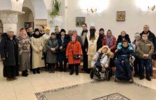 Митрополит Варсонофій у Києві звершив молебень для своїх підшефних