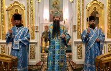 Митрополит Варсонофій звершив всенічне бдіння в Браїлівському монастирі.