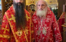 Митрополит Варсонофій співслужив за  Літургією Предстоятелю УПЦ у Введенському монастирі Києва