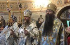 Митрополит Варсонофій звершив Божественну літургію у Введенському монастирі Києва