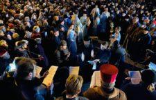 Торжество Православ'я у Вінниці. Молитовне стояння біля захопленого собору