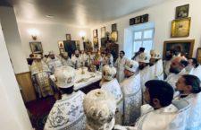 Візит митрополита Варсонофія в Лемешівський чоловічий монастир/Колядки