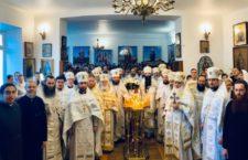 ВІДЕО. Святкове богослужіння в Іоанно-Богословському монастирі Лемешівки/Колядки