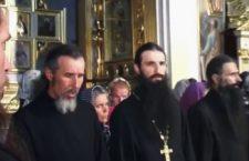 ВІДЕО. 2001 рік. Кадри з митрополитом Варсонофієм - хор братії Києво-Печерської лаври