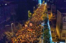 У Чорногорії продовжуються масові хресні ходи на захист канонічної Церкви. ФОТО