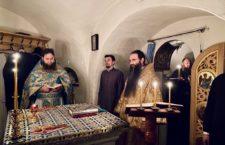 Митрополит Варсонофій звершив Божественну літургію в Дальніх печерах Києво-Печерської лаври