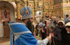 Митрополит Варсонофій звершив Всенічне бдіння напередодні свята Стрітення Господнього