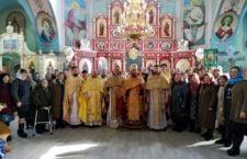 Соборне богослужіння в селі Уланів