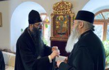 ВІДЕО. Візит митрополита Варсонофія в Рильський монастир Болгарії. Зустріч з ігуменом Євлогієм