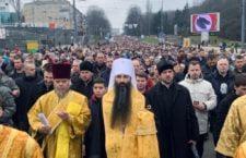 Багатотисячна Хресна хода  на честь Торжества Православ'я у Вінниці. ФОТОРЕПОРТАЖ