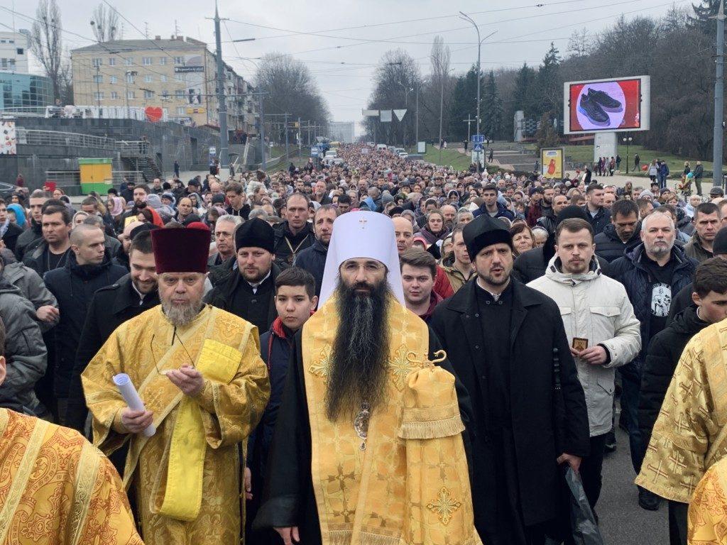 Многотысячный Крестный ход в честь Торжества Православия в Виннице