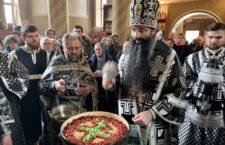Митрополит Варсонофій звершив літургію Передосвячених Дарів у храмі свт. Луки Кримського